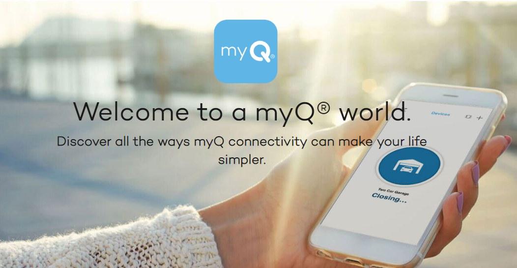 Myq Smart Home Smart Garage
